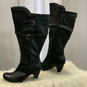 Avenue Kristen black boots size 12W